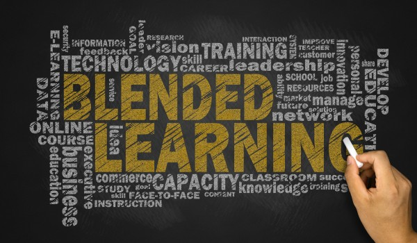 Blended Learning - the Best of Both Worlds